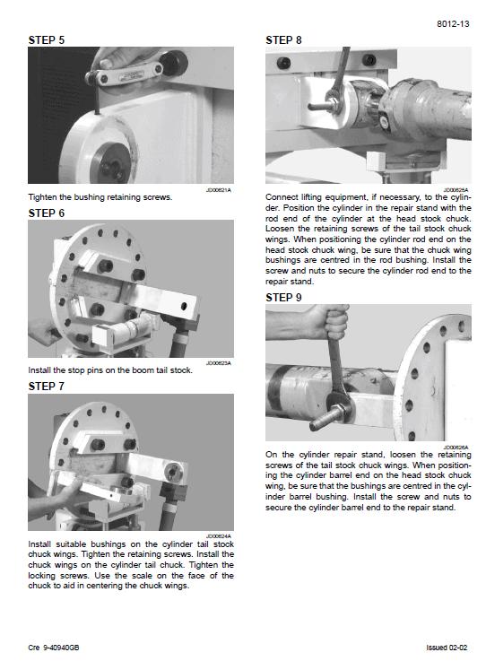 Case Cx800 Excavator Service Manual