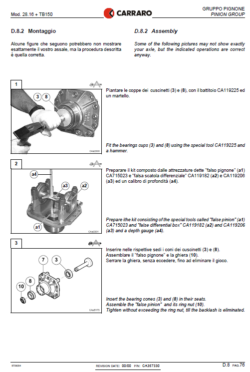 Case 21d, 121d, 221d And 321d Wheel Loader Service Manual