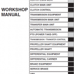 Hino Truck 2018 Conventional Service Manual