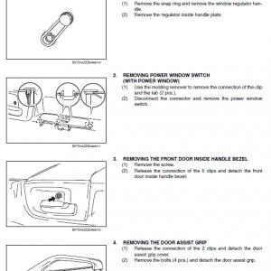 Hino Truck 2018 Coe Hev Service Manual