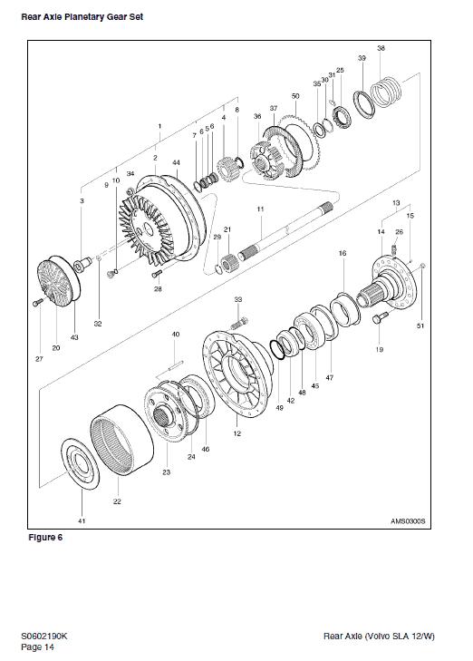 Daewoo Mega M300-v Wheel Loader Service Manual