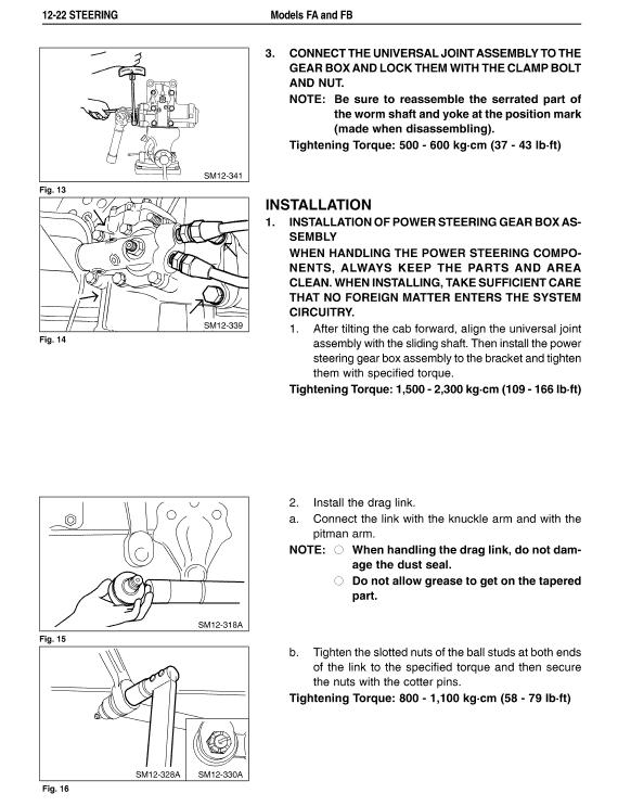 Hino Truck 2003 Service Manual
