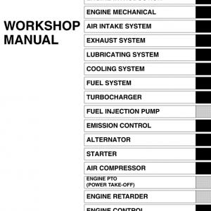 Hino Truck 2008 Service Manual