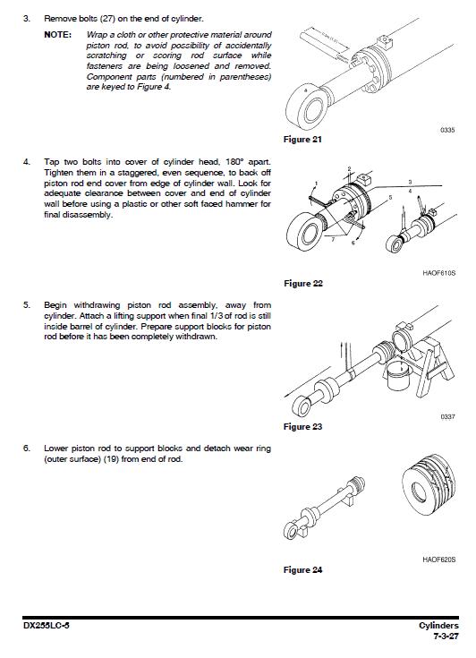 Doosan Dx255lc-5 Excavator Service Manual