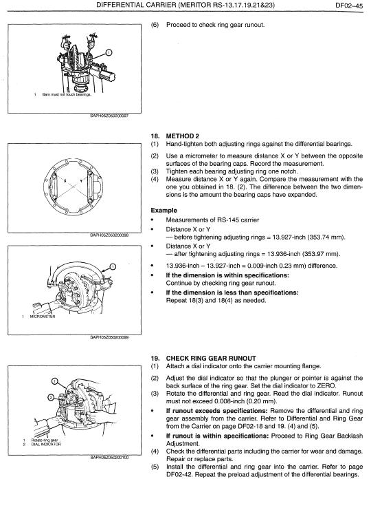 Hino Truck 2009 Service Manual