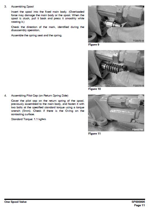 Doosan Dx190w Excavator Service Manual