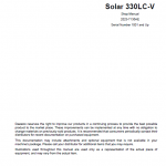 Daewoo Solar S330lc-v Excavator Service Manual