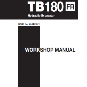 Takeuchi Tb180 Compact Excavator Service Manual