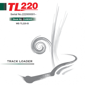 Takeuchi TL220 Loader Service Manual