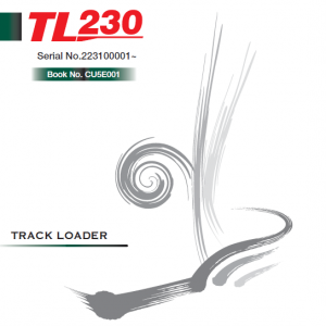 Takeuchi Tl230 Loader Service Manual
