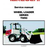 Takeuchi Tw50 Wheel Loader Service Manual
