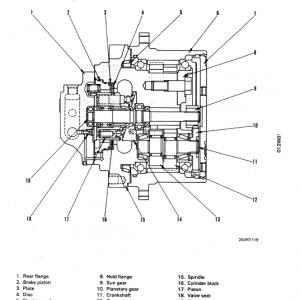Komatsu Pc75uu-1 Excavator Service Manual