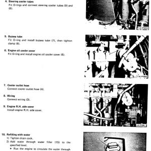 Komatsu D60s-7 And S65s-7 Dozer Service Manual