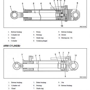 Komatsu Wb142-5 Backhoe Loader Service Manual