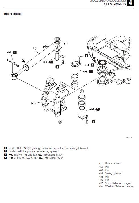 Takeuchi Tb230 Compact Excavator Service Manual