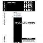 Takeuchi Tl150 Loader Service Manual