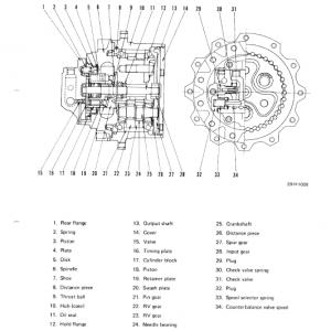 Komatsu Pc60-5, Pc60l-5, Pc60u-5 Excavator Service Manual