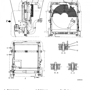 Komatsu Pc400-6, Pc400lc-6 Excavator Service Manual