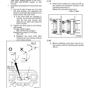 Komatsu Pc200-7, Pc200lc-7, Pc220-7, Pc220lc-7 Excavator Manual