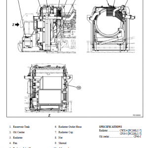 Komatsu Pc200lc-7l And Pc220lc-7l Service Manual