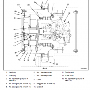 Komatsu Pc390ll-10 Log Loader Service Manual