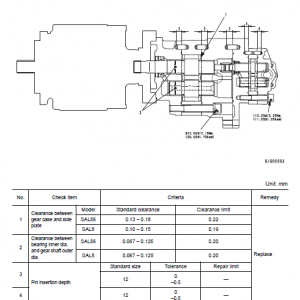 Komatsu Pc600-8 And Pc600lc-8 Excavator Service Manual