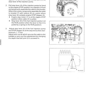 Komatsu Lw250-5 Crane Service Manual