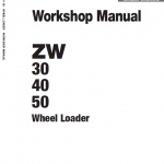 Hitachi Zw30, Zw40, Zw50 Wheel Loader Service Manual