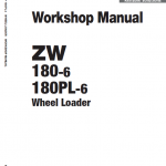 Hitachi Zw180-6 Wheel Loader Service Manual