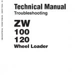 Hitachi Zw100 And Zw120 Wheel Loader Service Manual