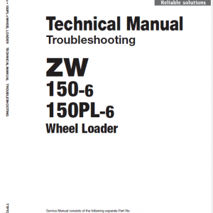 Hitachi Zw150-6 Wheel Loader Service Manual