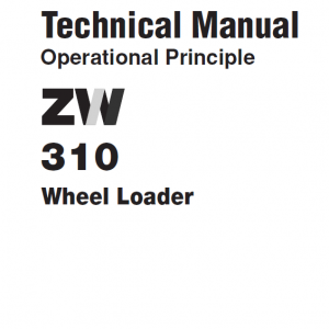 Hitachi Zw310 Wheel Loader Service Manual