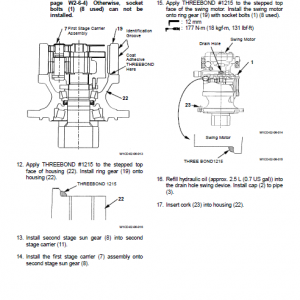 Hitachi Zx70 Excavator Service Manual