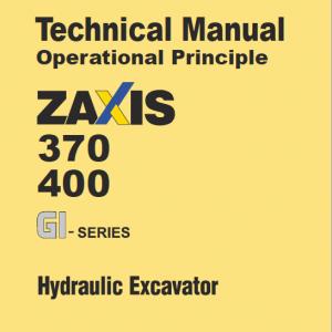 Hitachi Zx370gi, Zx400gi Excavator Service Manual