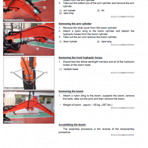 Kubota U35-4 Excavator Workshop Service Manual