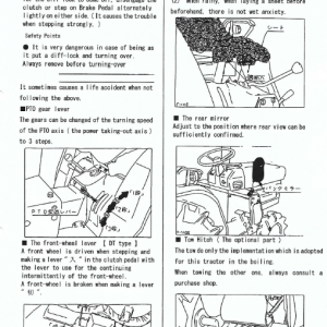 Kubota B1600, B1600dt Tractor Workshop Service Manual