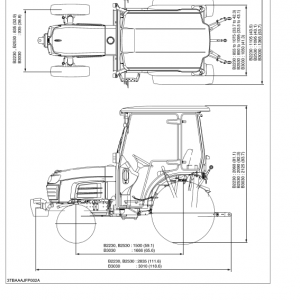 Kubota B1830, B2230, B2530, B3030 Tractor Workshop Manual