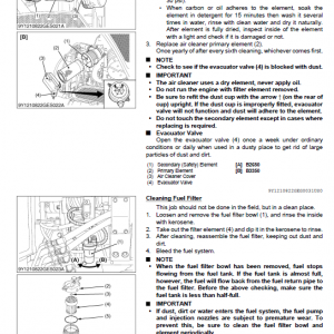 Kubota B2650hsdc, B3350hsdc Workshop Service Manual
