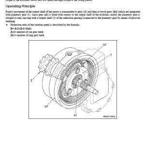 Komatsu Sk815-5n, Sk815-5na Skid-steer Loader Service Manual
