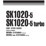 Komatsu Sk1020-5 Skid-steer Loader Service Manual