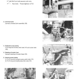 Komatsu D65a-7, D65e-7, D65p-7 Dozer Service Manual