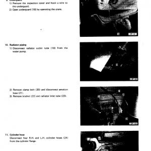 Komatsu D150a-1, D155a-1 Dozer Service Manual