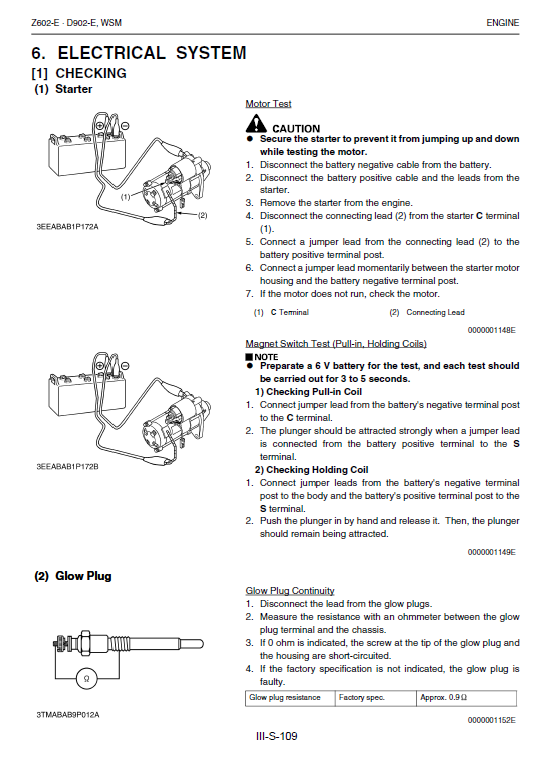 Kubota Kx36-3, Kx41-3s, Kx41-3v Excavator Workshop Manual
