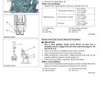 Kubota U17, U17-3 Excavator Workshop Service Manual