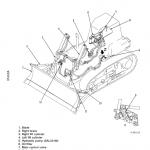 Komatsu D85ess-2, D85ess-2a Dozer Service Manual