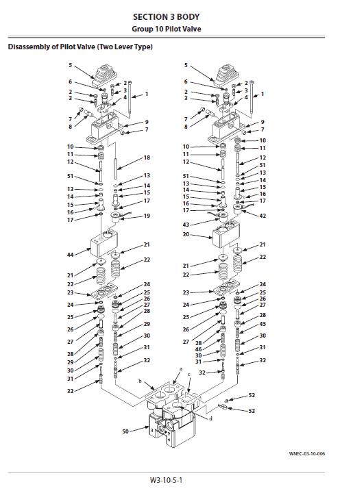 Hitachi Zw140-5b, Zw140pl-5b Wheel Loader Service Manual
