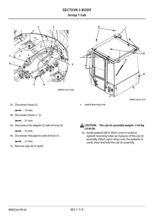 Hitachi Zw150-5b Wheel Loader Service Manual