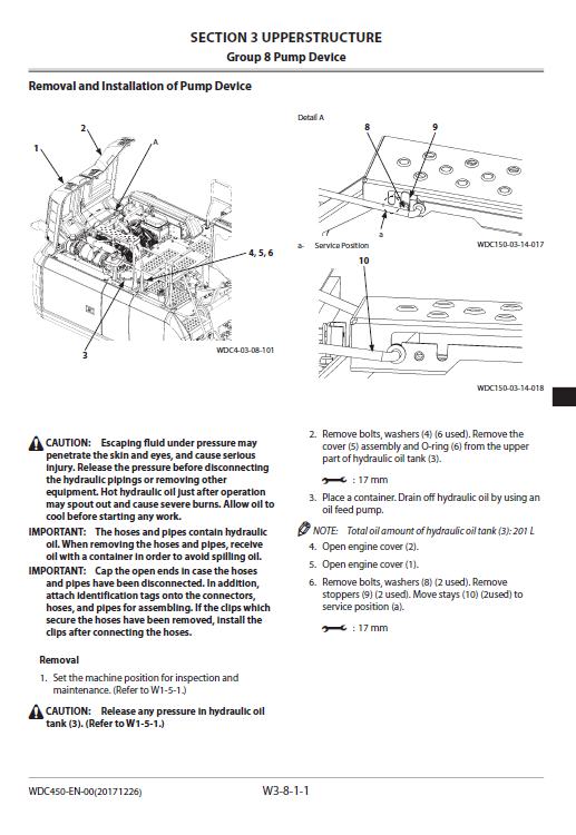 Hitachi Zx210-6, Zx210lc-6, Zx240n-6 Excavator Service Manual