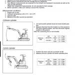 Kubota U35, U35-3 Excavator Workshop Service Manual