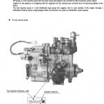 Komatsu 4d88e, 4d98e, 4d106 Series Engine Manual